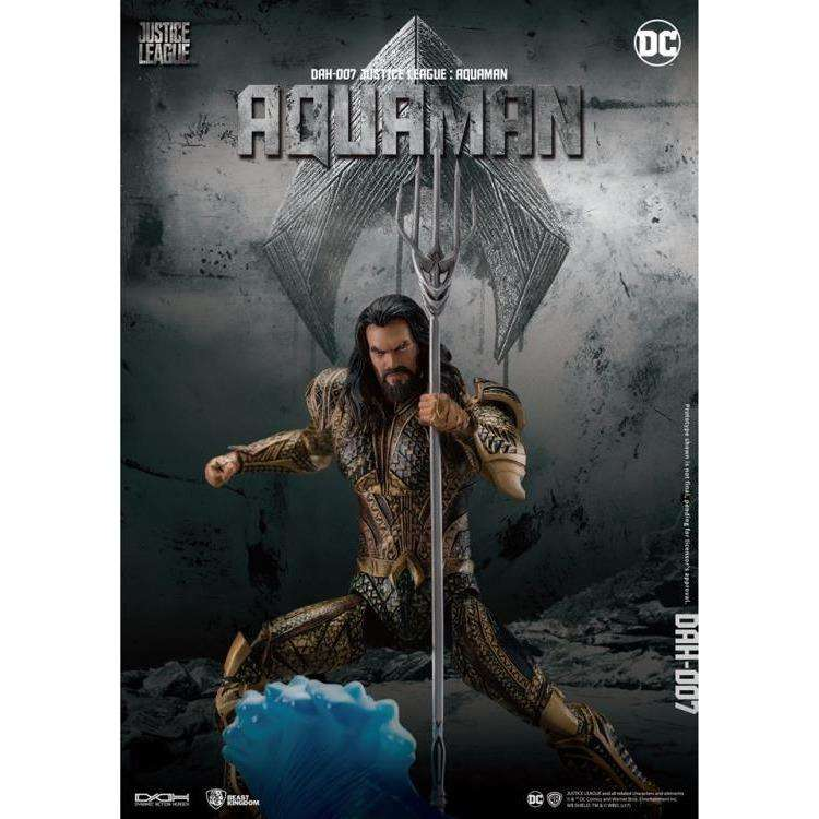 Justice League Dynamic 8ction Heroes DAH-007 Aquaman PX Previews Exclusive - SEPTEMBER 2018