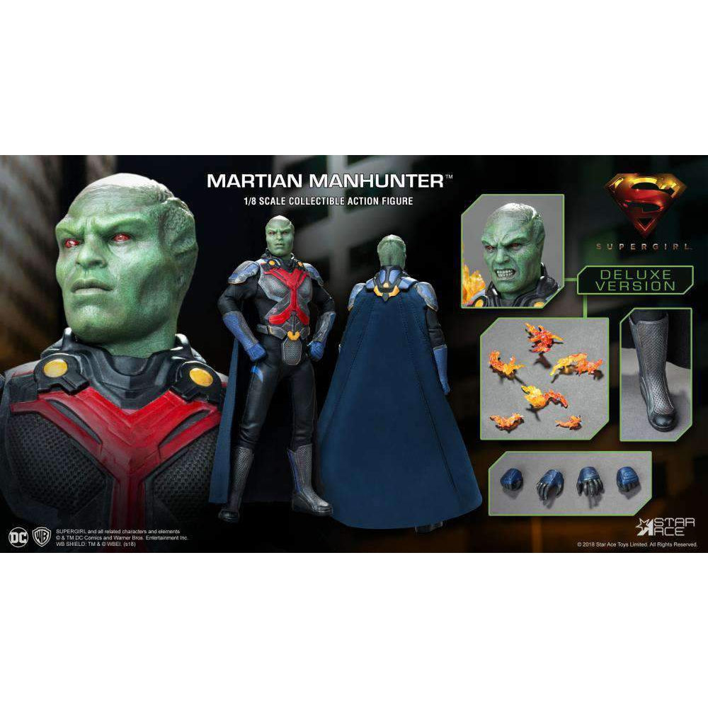 Supergirl (TV Series) Real Master Series Martian Manhunter (Deluxe) 1/8  Scale Figure - AUGUST 2019