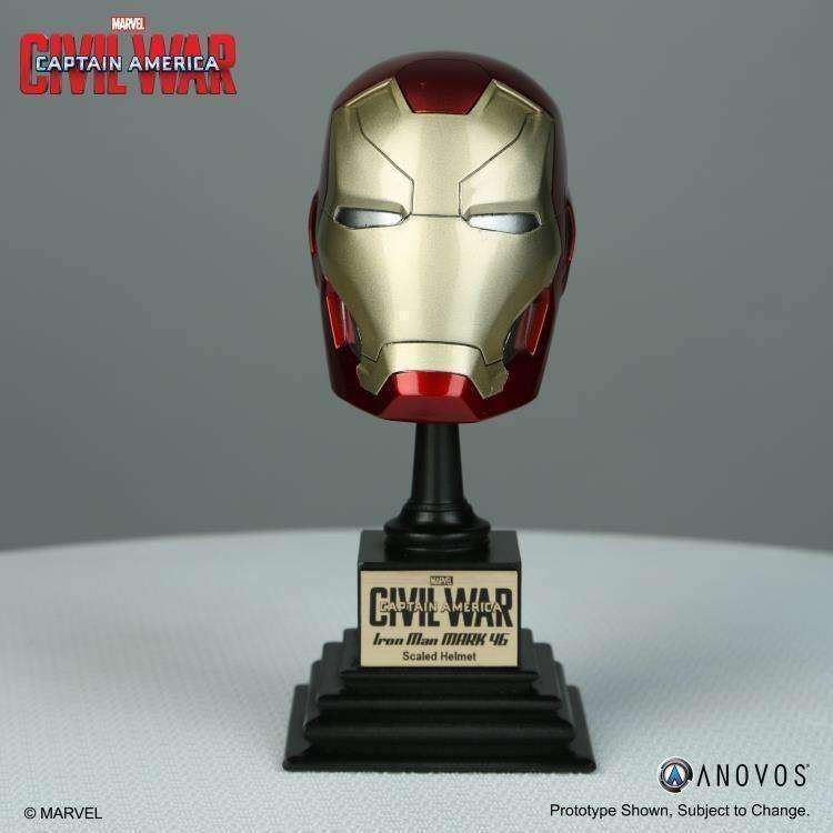 Captain America: Civil War Marvel Armory Collection Iron Man 1/3 Scale Helmet Replica - Q3 2018