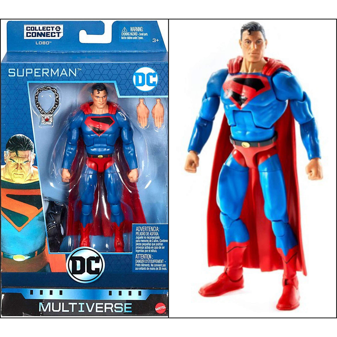 DC Comics Multiverse Wave 10 (Collect & Connect Lobo) - Superman (Kingdom Come)