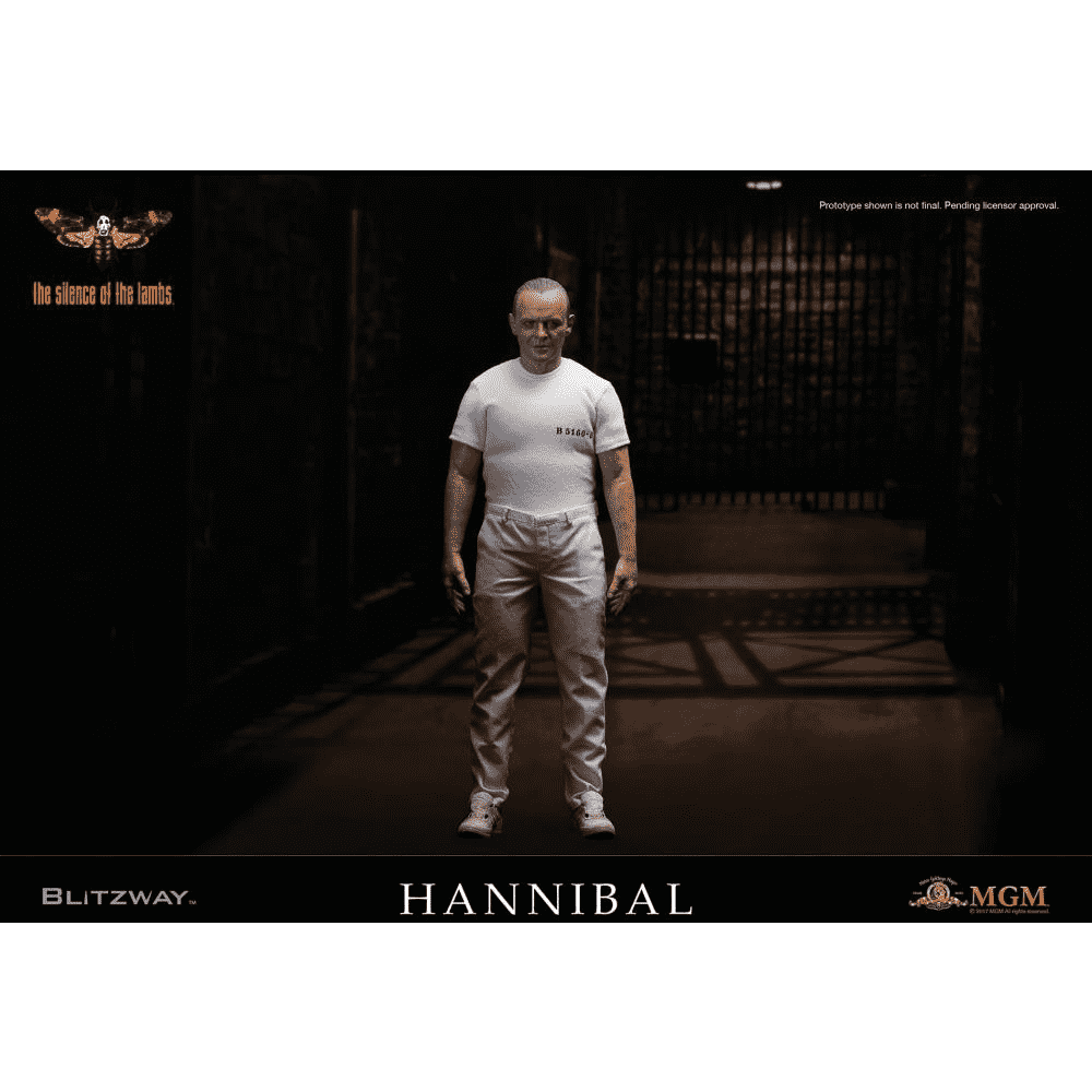 The Silence of the Lambs 1/6 Scale Hannibal Lecter White Prison Uniform Version - Q1 2018