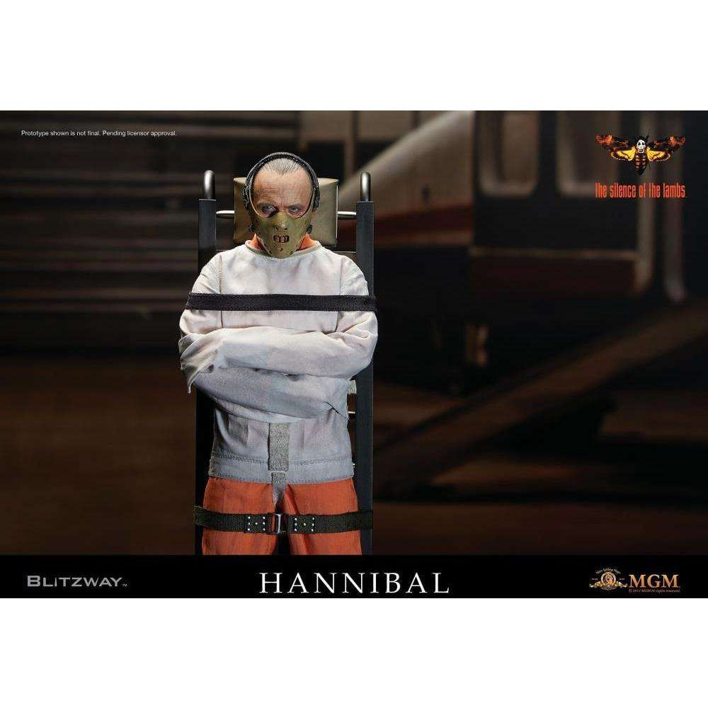 The Silence of the Lambs 1/6 Scale Hannibal Lecter Straitjacket Version - Q1 2018