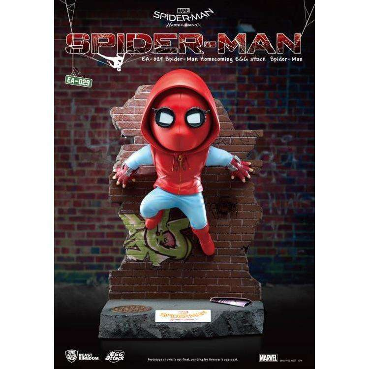 Spider-Man: Homecoming Egg Attack EA-029 Spider-Man Statue PX Previews Exclusive by Beast Kingdom - PRE-ORDER SHIPS MARCH 2018