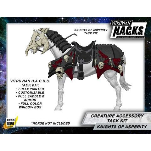 Vitruvian H.A.C.K.S. Mighty Steeds - Heavy Tack Kit Knights of Asperity