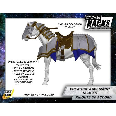 Vitruvian H.A.C.K.S. Mighty Steeds - Heavy Tack Kit Knights of Accord