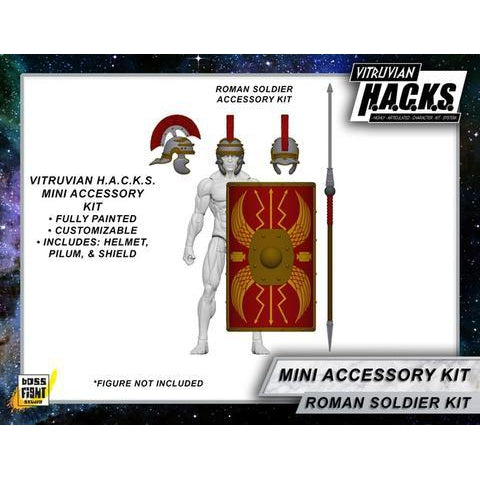 Vitruvian H.A.C.K.S. Mighty Steeds - Roman Mini Gear Kit