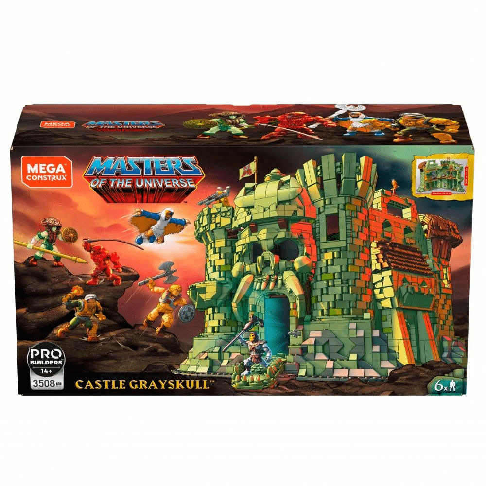 Mega Construx Probuilder Masters of the Universe Grayskull Castle Playset - JUNE 2019