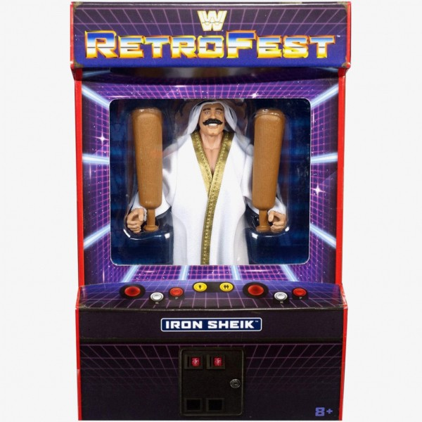 WWE Retrofest Iron Sheik Action Figure