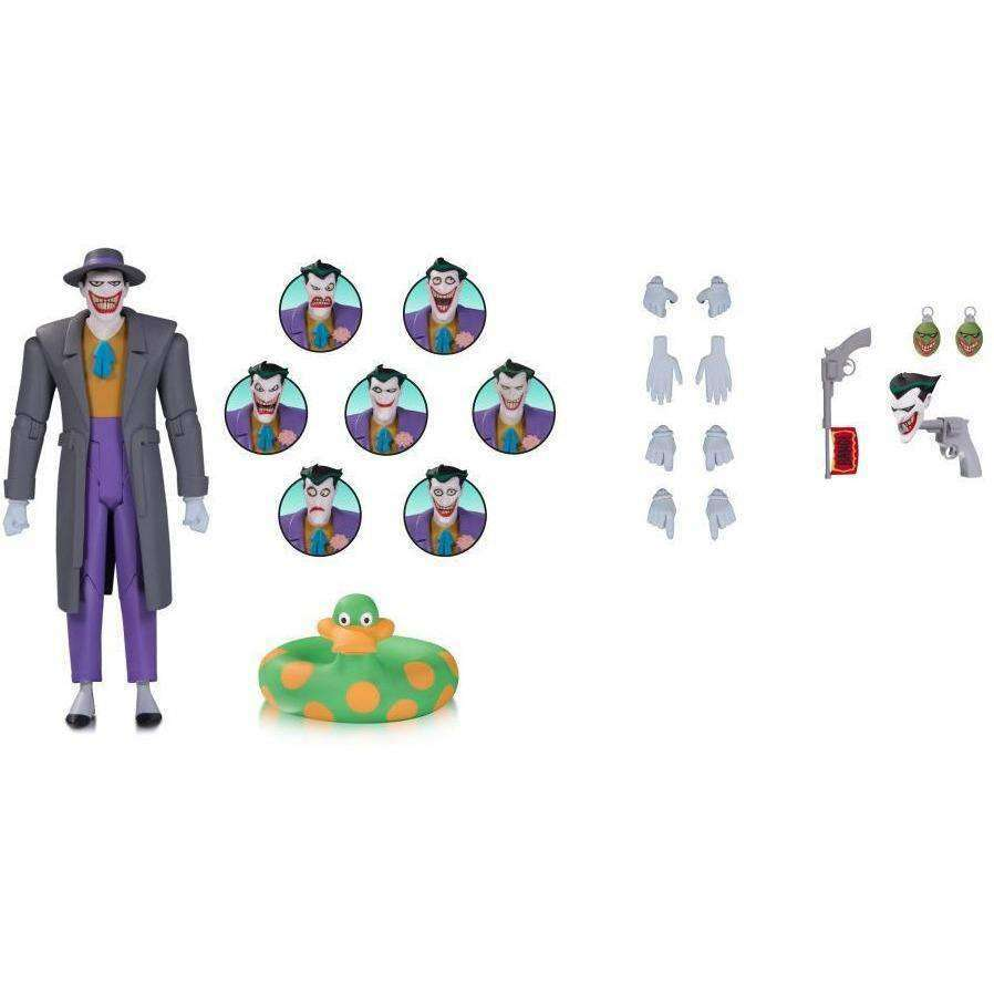 Batman: The Animated Series - The Joker Expressions Pack - By DC Collectibles - PRE-ORDER SHIPS MARCH 2018