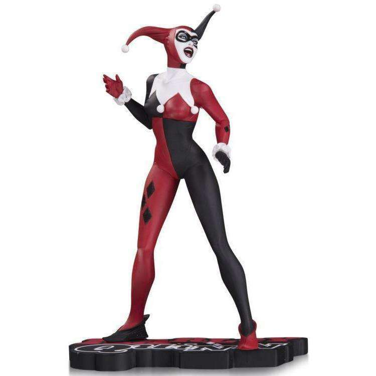 DC Comics - Red, White & Black Harley Quinn Statue by Jae Lee - JUNE 2018