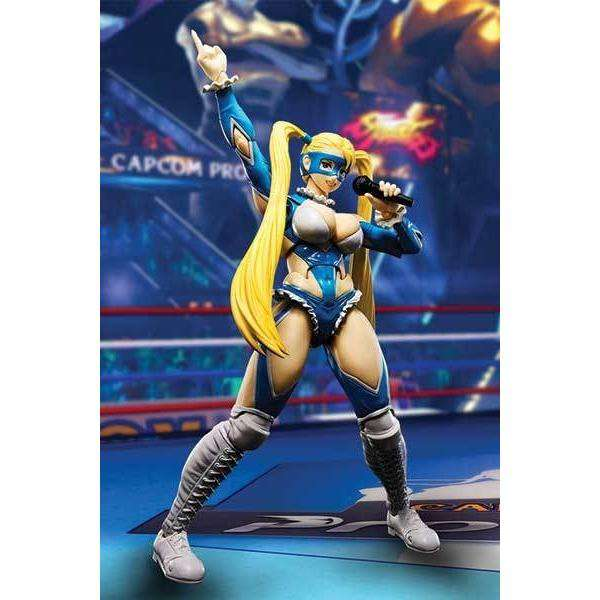 Street Fighter: S.H.Figuarts - Rainbow Mika Action Figure - By Bandai Japan - PRE-ORDER SHIPS MARCH 2018
