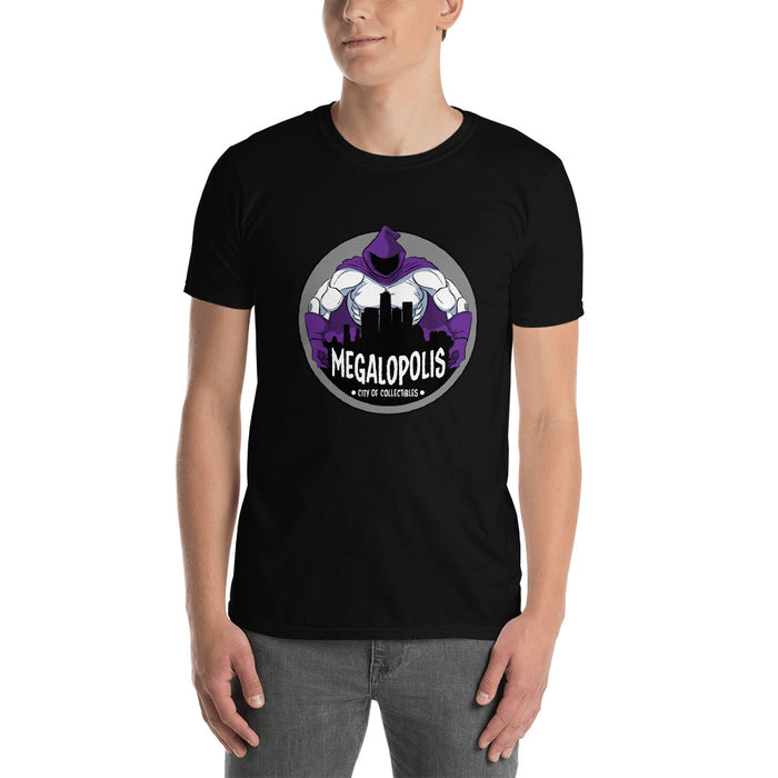 Megalopolis Logo Short-Sleeve Men's T-Shirt (White or Black)