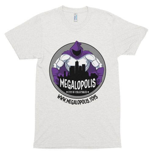 Megalopolis Women's Basic Logo T-Shirt (Soft Blend) - White