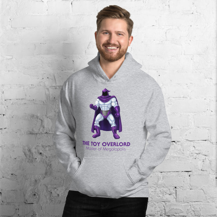 Master of Megalopolis Cotton/Poly Blend Hoodie (Unisex)