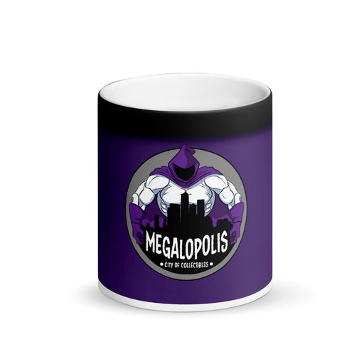 Megalopolis Matte Black Magic Color-Changing Mug
