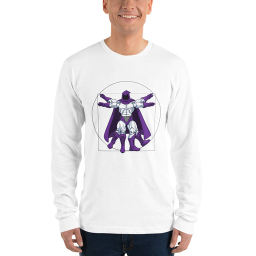 Vitruvian Overlord Long Sleeve T-Shirt
