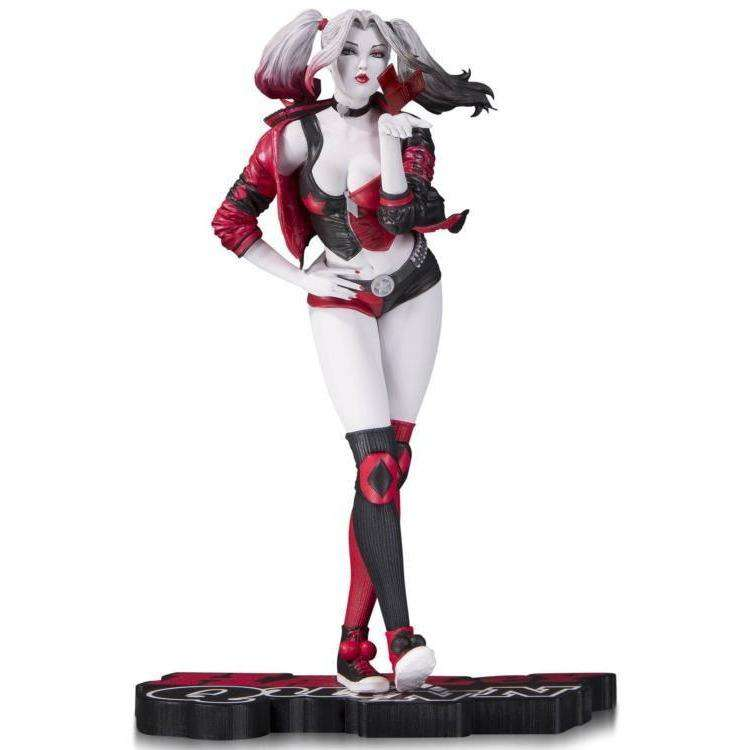 "DC Comics - Red, White & Black Harley Quinn Statue (Stanley ""Artgerm"" Lau) - By DC Collectibles - PRE-ORDER SHIPS FEBRUARY 2018"