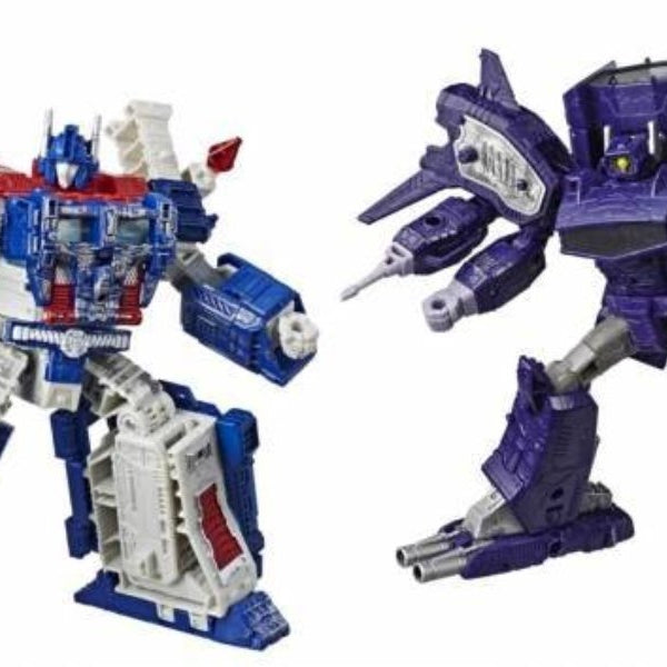 Transformers War for Cybertron: Siege Leader Wave 1 Set of 2 Figures