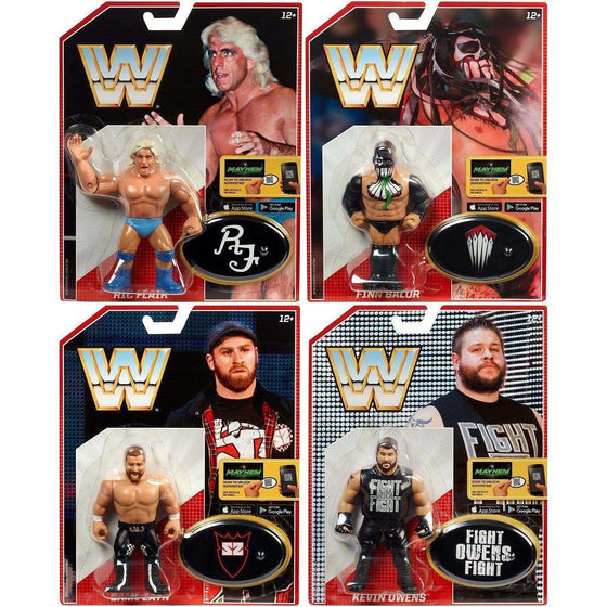 WWE Retro Figures Series 4 Set of 4 - BACKORDERED SHIPS AUGUST