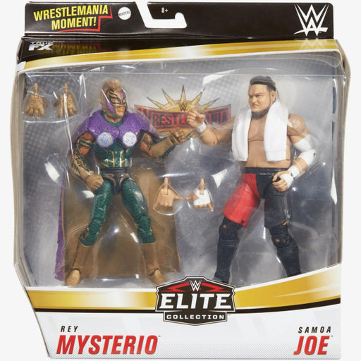 WWE Rey Mysterio and Samoa Joe Elite Collection 2-Pack - AUGUST 2020