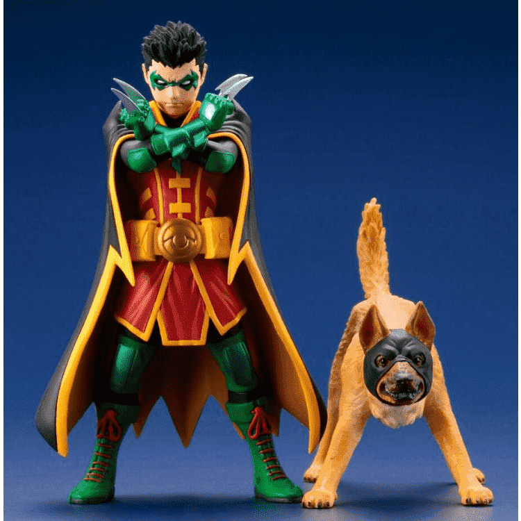 DC Comics Super Sons ArtFX+ Robin & Ace Statue Two-Pack - AUGUST 2018