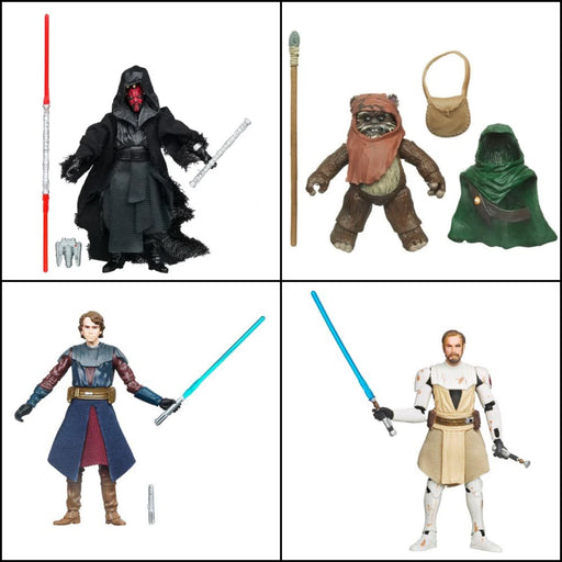 "Star Wars The Vintage Collection Wave 3 (2020) - Set of 4 3.75"" - Inch Action Figures"