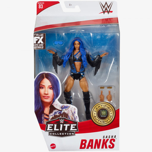 WWE Elite Collection Series 83 Sasha Banks Action Figure - FEBRUARY 2021