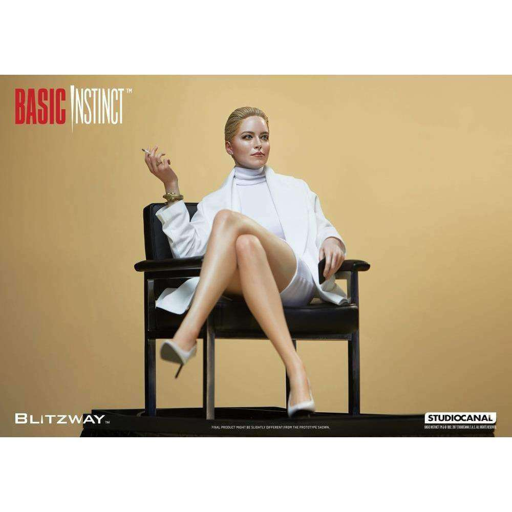 Basic Instinct - Catherine Tramell (Sharon Stone) 1/4 Superb Scale Statue - MARCH 2018