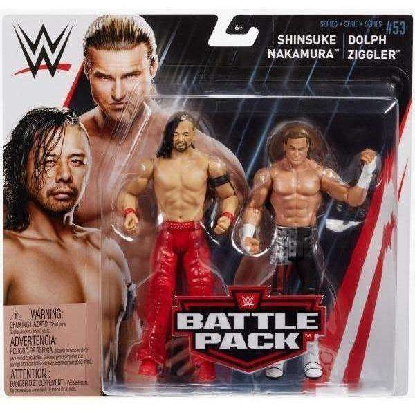 WWE Battle Packs Series 53 - Shinesuke Nakamura & Dolph Ziggler