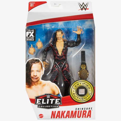 WWE Elite Collection Series 81 Shinsuke Nakamura Action Figure - JANUARY 2021