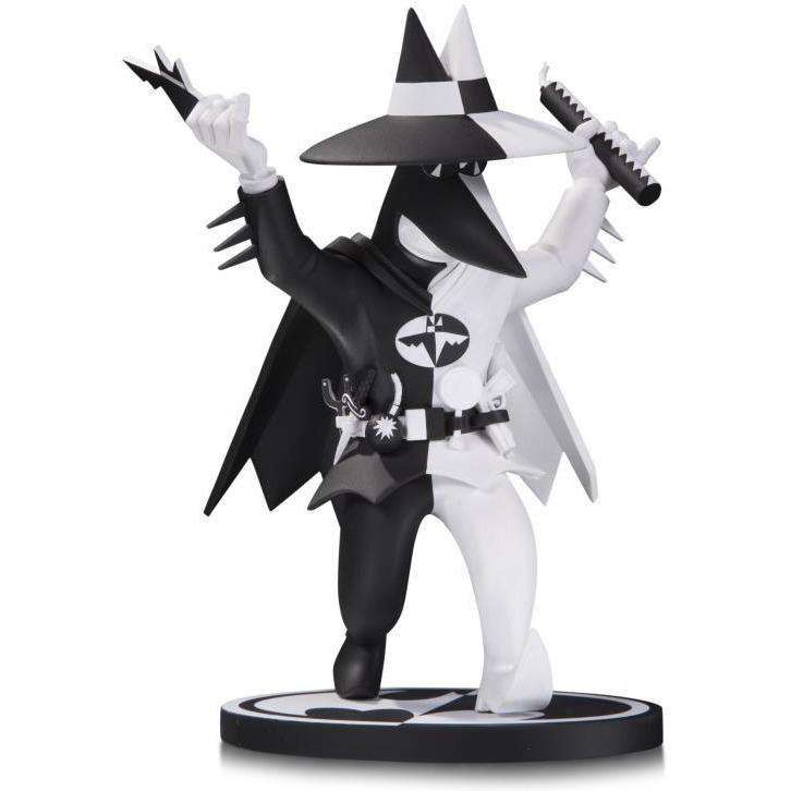 MAD Batman Black and White Spy Vs. Spy Statue (Peter Kuper) - By DC Collectibles - PRE-ORDER SHIPS MARCH 2018