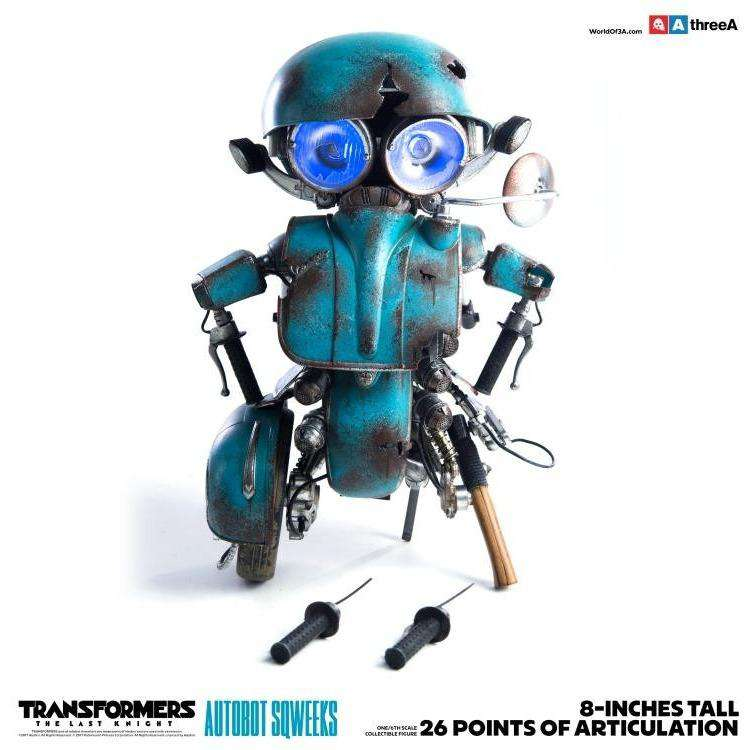 Transformers: The Last Knight - Sqweeks 1/6 Scale Collectible Figure by THREEA - PRE-ORDER SHIPS 1Q 2018