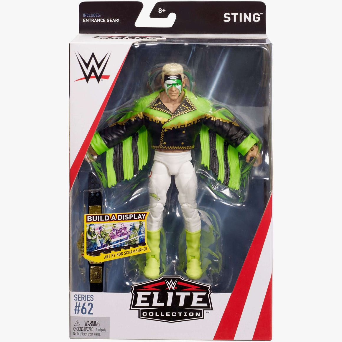 WWE Wrestling Elite Series 62 - Surfer Sting Action Figure