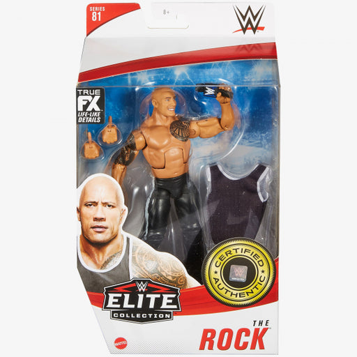 WWE Elite Collection Series 81 Rock Action Figure - JANUARY 2021