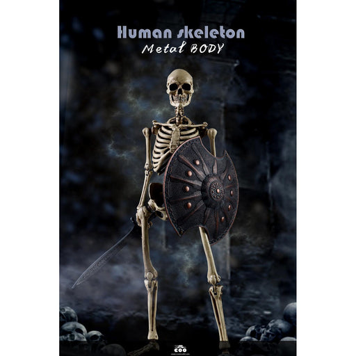 COOMODEL NO.BS011 1/6 THE HUMAN SKELETON (DIECAST ALLOY) - Q1 2020