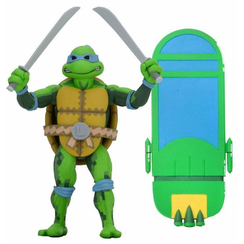 "TMNT: Turtles in Time - 7"" Scale Action Figures - Leonardo - NOVEMBER 2019"