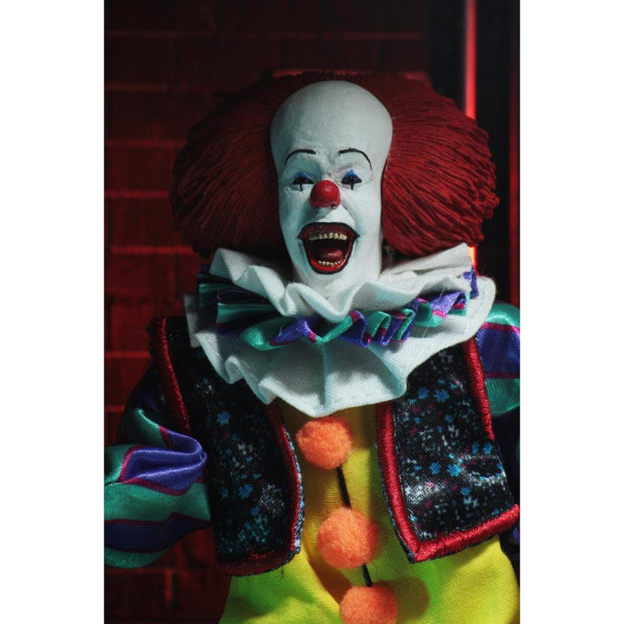 "IT - 8"" Clothed Action Figure - Pennywise (1990)"