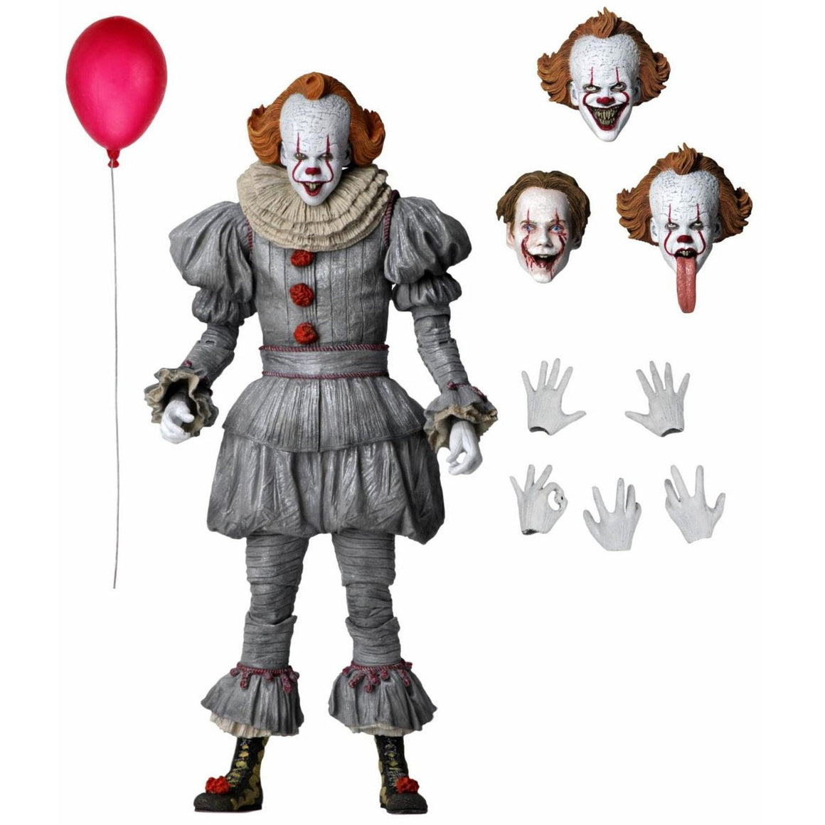"IT Chapter 2 - 7"" Scale Action Figure - Ultimate Pennywise (2019 Movie) - MARCH 2020"