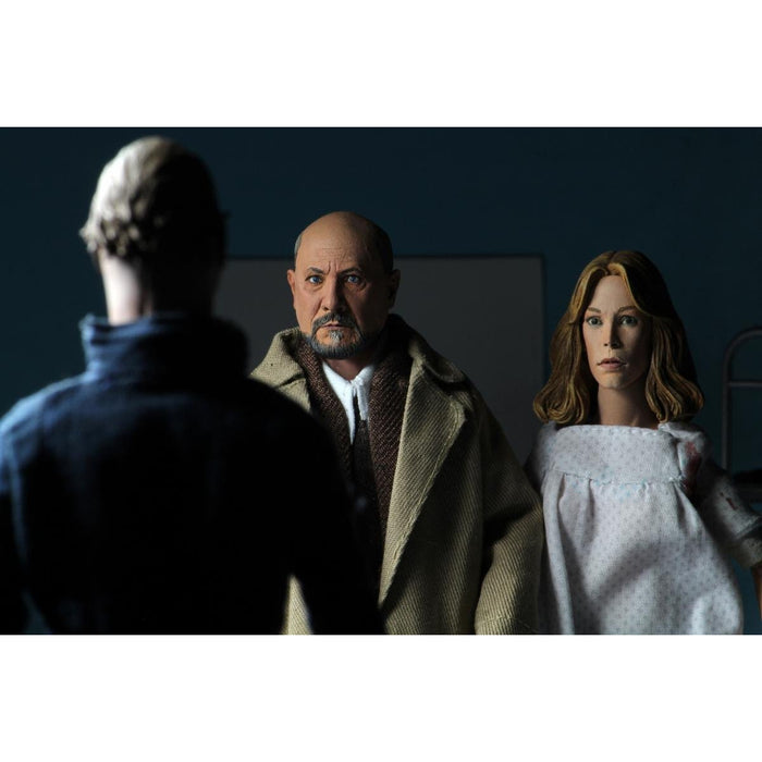 "Halloween 2 - 8"" Scale Clothed Figure - Doctor Loomis & Laurie Strode 2-Pack - MAY 2020"