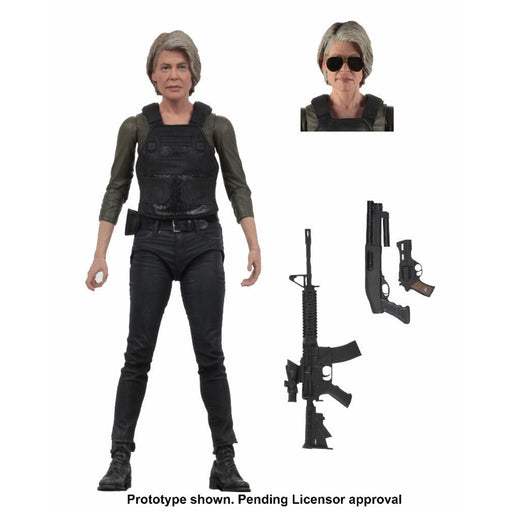 "Terminator Dark Fate (2019) - 7"" Scale Sarah Connor Action Figure"