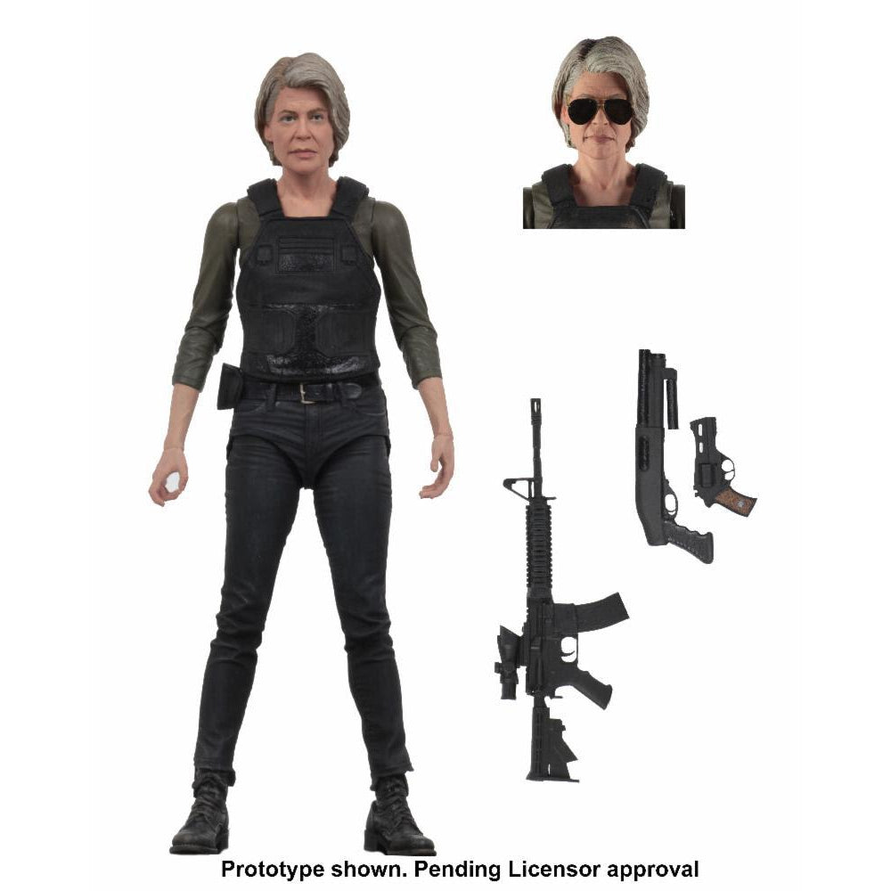 "Terminator Dark Fate (2019) - 7"" Scale Sarah Connor Action Figure - OCTOBER 2019"