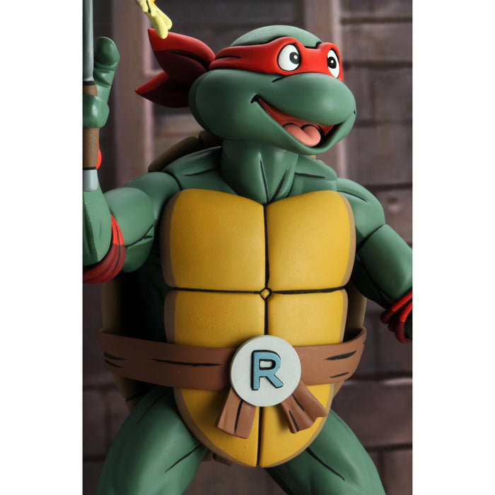 Teenage Mutant Ninja Turtles (Cartoon) – ¼ Scale Action Figure – Super Size Raphael - JULY 2020