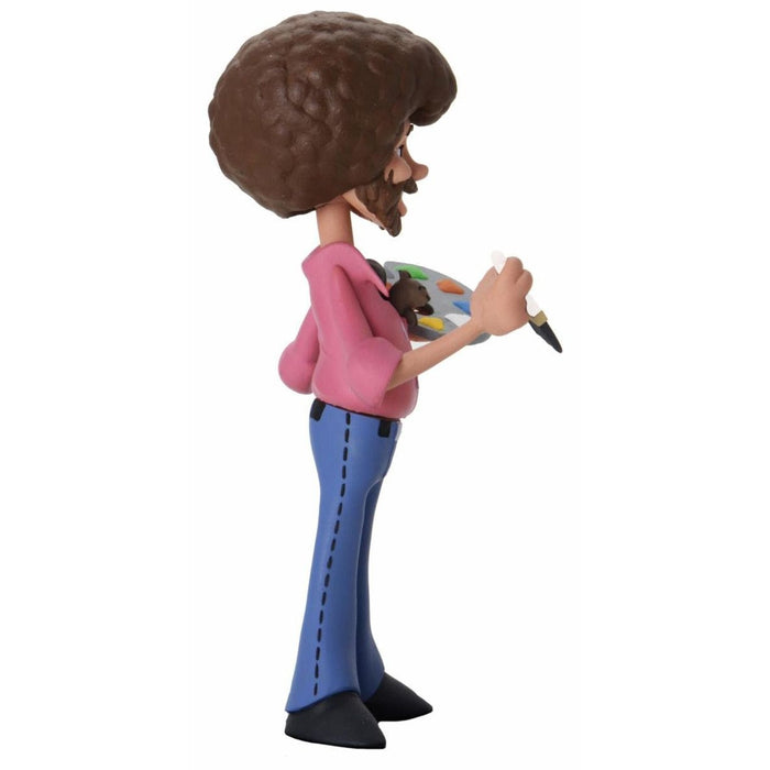 "Bob Ross – 6"" Scale Action Figure – Toony Classics Bob Ross with Peapod - AUGUST 2020"