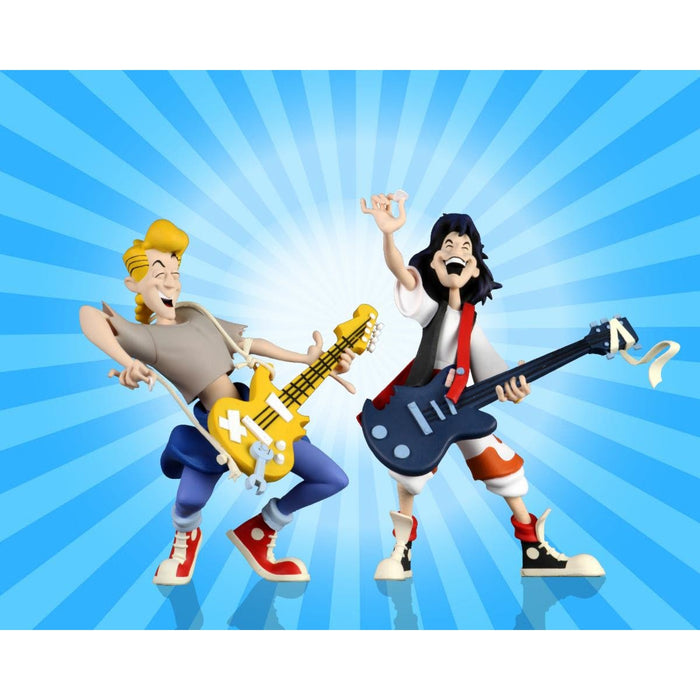 "Bill and Ted's Excellent Adventure – 6"" Scale Action Figure – Toony Classics Bill and Ted 2-Pack - JULY 2020"