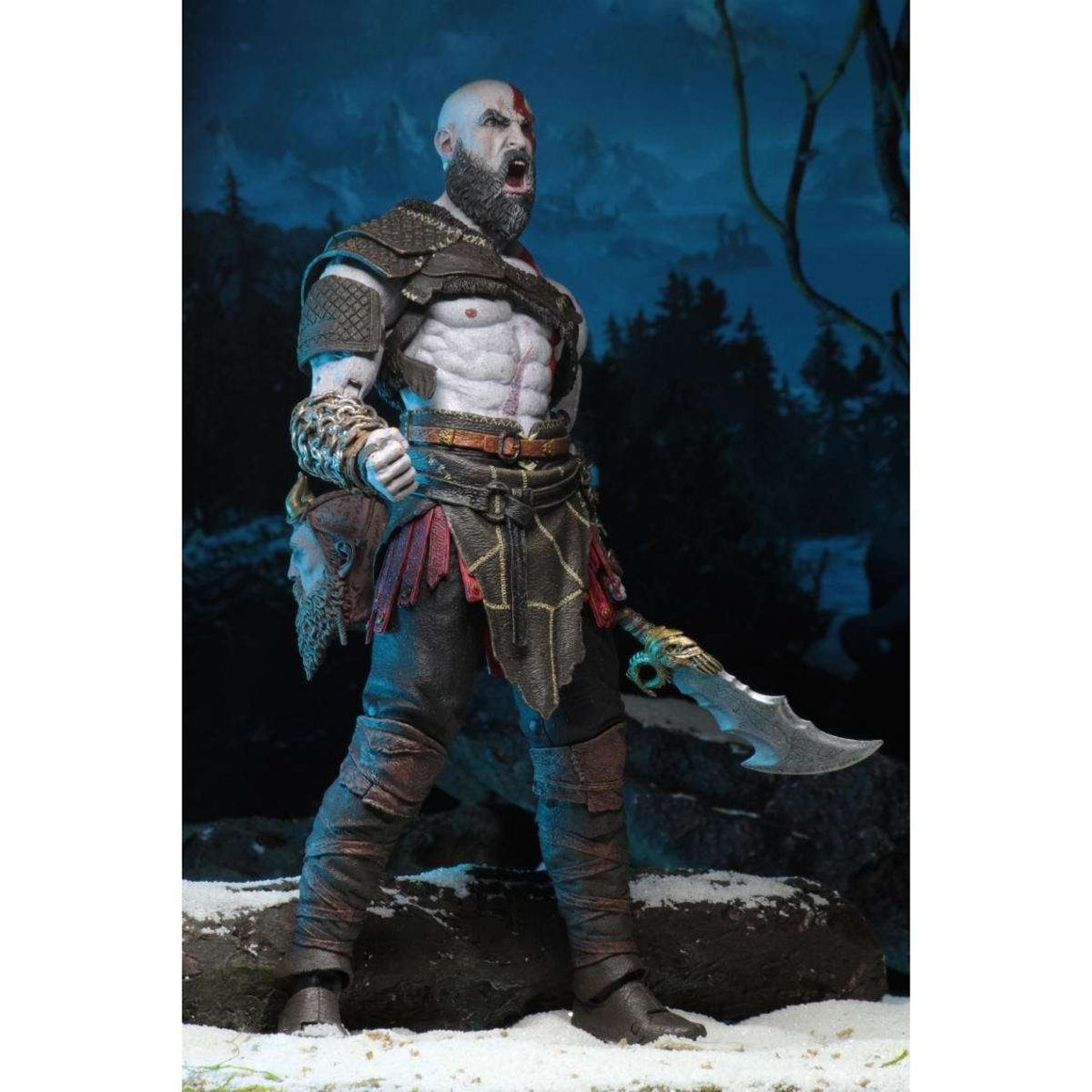 "God of War (20l8) - 7"" Scale Action Figure - Ultimate Kratos & Atreus 2-Pack"