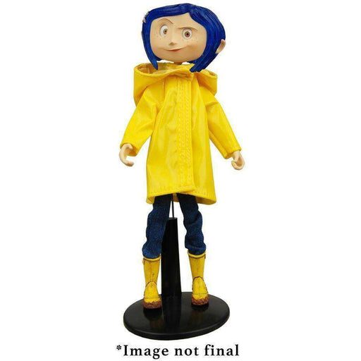 Coraline - Articulated Figure - Coraline in Raincoat