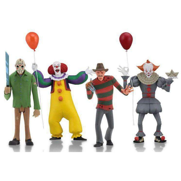"Toony Terrors - 6"" Scale Action Figure Set of 4"