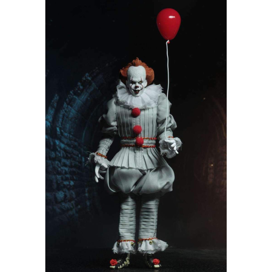 "IT - 8"" Clothed Action Figure - Pennywise (2017) - Q3 2019"