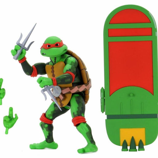 TMNT Turtles in Time Series 2 - Raphael (DAMAGED BOX)