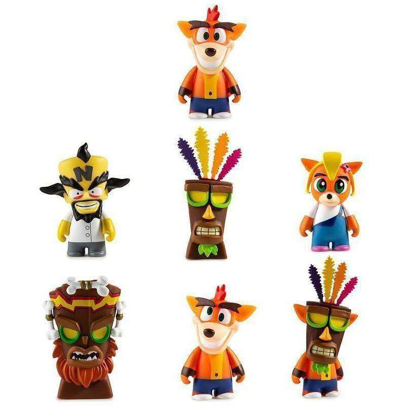 "Crash Bandicoot 3"" Blind box Vinyl Mini-Series"